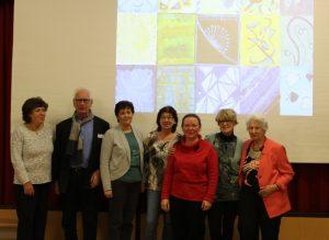Malgruppe Brigittenau vor Gemeinschaftsbild