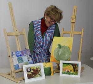 Maria Eichhorn mit Bildern
