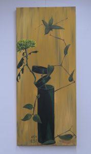 Ikebana mit Chrysantheme_AST.EST.